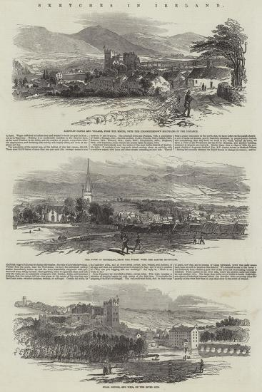 Sketches in Ireland--Giclee Print