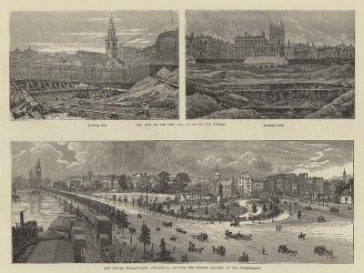 Sketches in London--Giclee Print