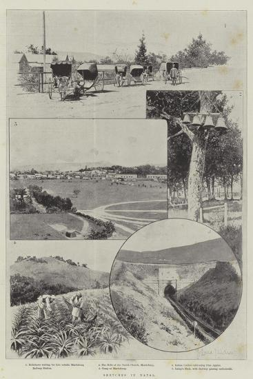 Sketches in Natal-Joseph Holland Tringham-Giclee Print