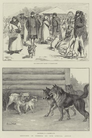 Sketches in Siberia-Frederick Pegram-Giclee Print