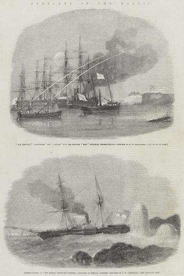 Sketches in the Baltic-John Wilson Carmichael-Giclee Print