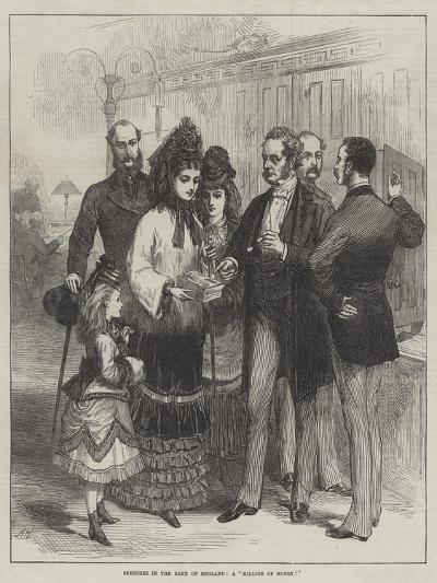 Sketches in the Bank of England, a Million of Money!--Giclee Print