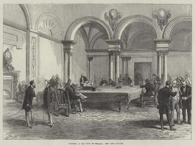 Sketches in the Bank of England, the Bank Parlour--Giclee Print