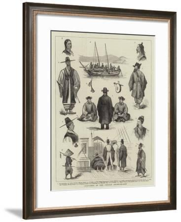 Sketches in the Corean Archipelago--Framed Giclee Print