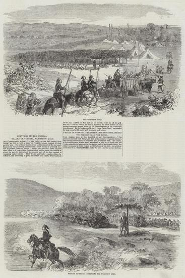 Sketches in the Crimea--Giclee Print