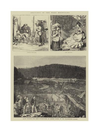 Sketches in the Harz Mountains--Giclee Print