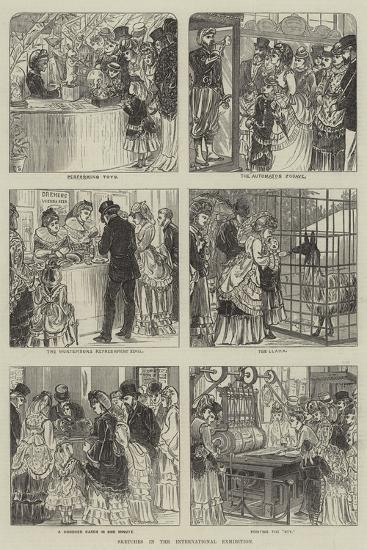 Sketches in the International Exhibition--Giclee Print