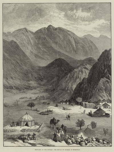 Sketches in the Soudan, the Defile of Haraza, in Kordofan--Giclee Print