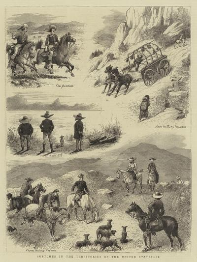 Sketches in the Territories of the United States, II--Giclee Print