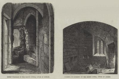 Sketches in the Tower--Giclee Print