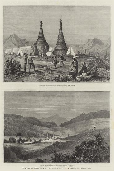Sketches in Upper Burmah-Charles Auguste Loye-Giclee Print