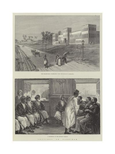Sketches in Zanzibar--Giclee Print