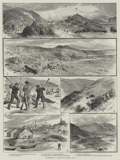 Sketches of a Cruise to Alaska--Giclee Print