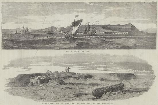 Sketches of Anapa--Giclee Print