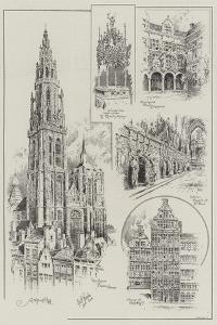 Sketches of Antwerp