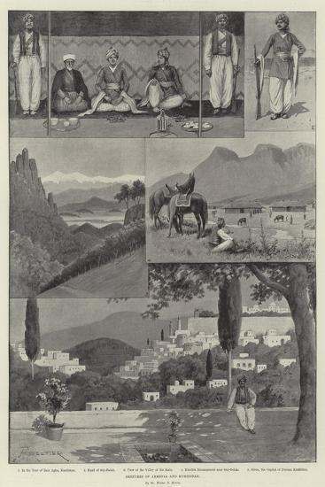 Sketches of Armenia and Kurdistan-Amedee Forestier-Giclee Print