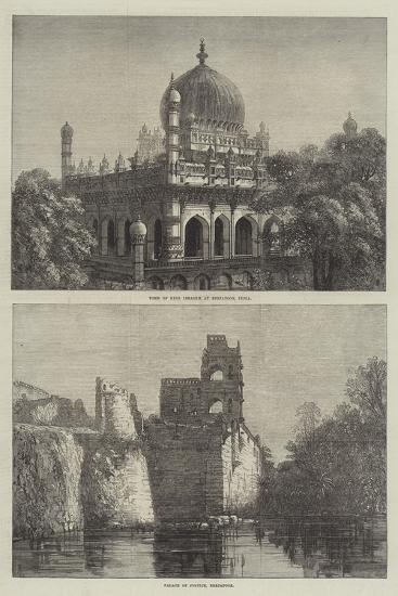 Sketches of Beejapoor--Giclee Print