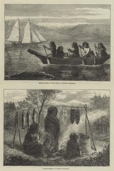 Sketches of British Columbia--Giclee Print