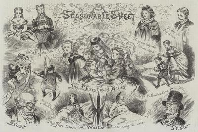 Sketches of Christmas--Giclee Print