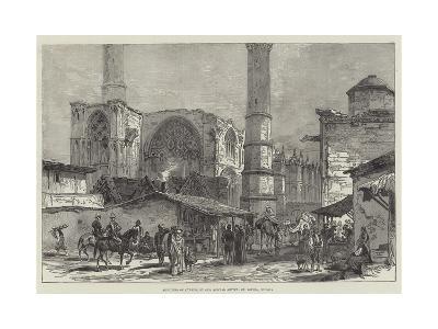Sketches of Cyprus, St Sophia, Nicosia--Giclee Print