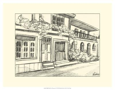 Sketches of Downtown III-Ethan Harper-Art Print