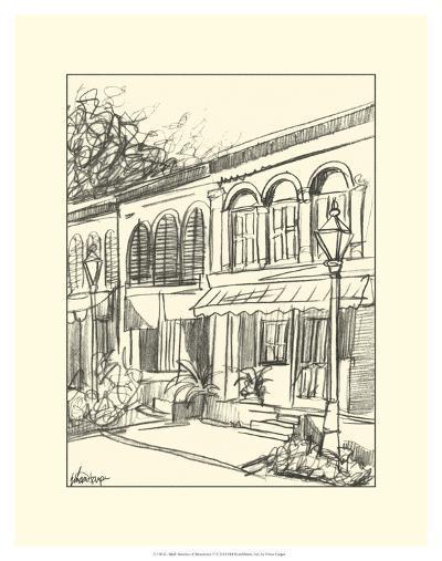 Sketches of Downtown V-Ethan Harper-Art Print