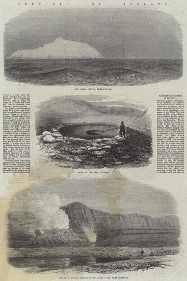 Sketches of Iceland--Giclee Print