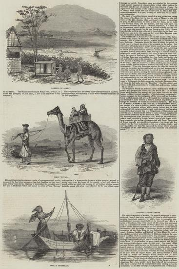 Sketches of India--Giclee Print