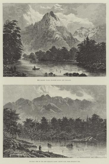Sketches of New Zealand--Giclee Print