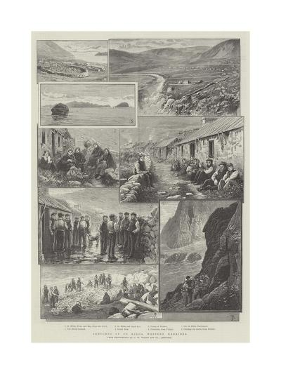 Sketches of St Kilda, Western Hebrides--Giclee Print