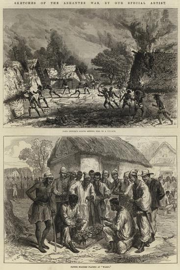 Sketches of the Ashantee War--Giclee Print