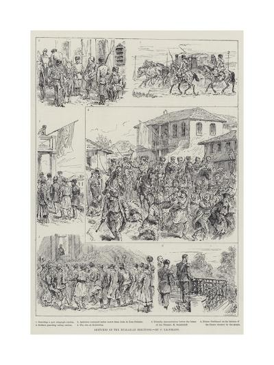 Sketches of the Bulgarian Elections-Johann Nepomuk Schonberg-Giclee Print