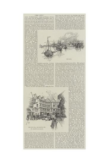 Sketches of the City--Giclee Print