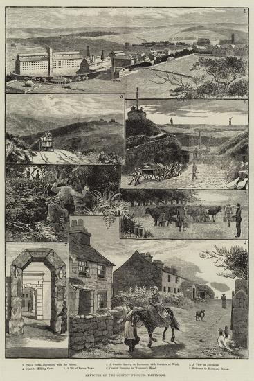Sketches of the Convict Prisons, Dartmoor-Walter Bothams-Giclee Print