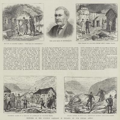Sketches of the Eviction Campaign in Ireland-Thomas Harrington Wilson-Giclee Print