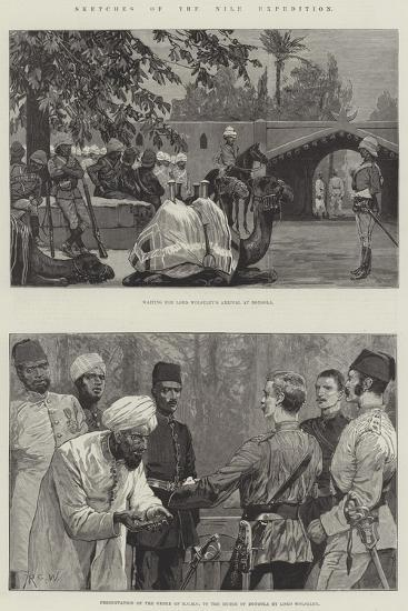 Sketches of the Nile Expedition-Richard Caton Woodville II-Giclee Print