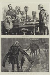 Sketches of the Opening of Term at the Law Courts