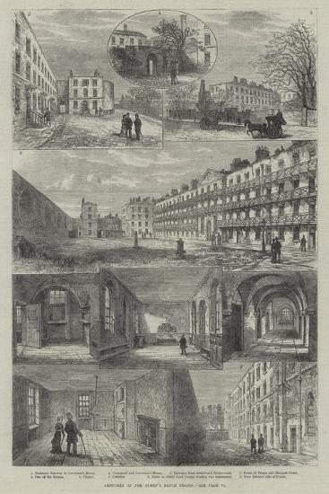 Sketches of the Queen's Bench Prison-Frank Watkins-Giclee Print