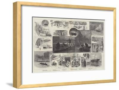 Sketches of the Thames Police-Henry Charles Seppings Wright-Framed Giclee Print