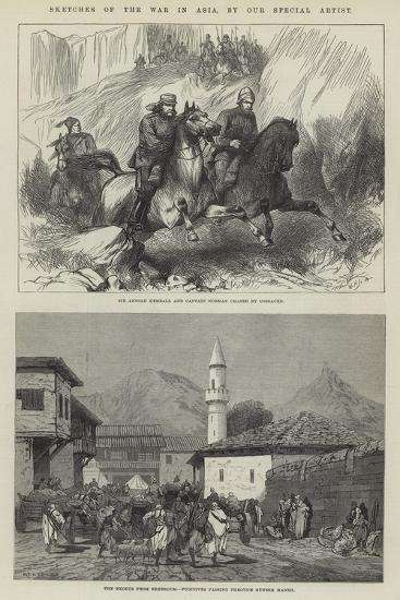 Sketches of the War in Asia-Charles Auguste Loye-Giclee Print