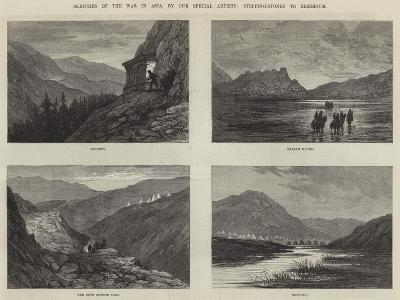 Sketches of the War in Asia-Sir John Gilbert-Giclee Print