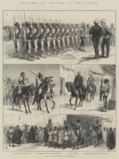 Sketches of the War in the Soudan--Giclee Print