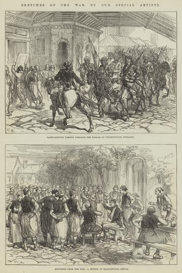 Sketches of the War-Charles Robinson-Giclee Print