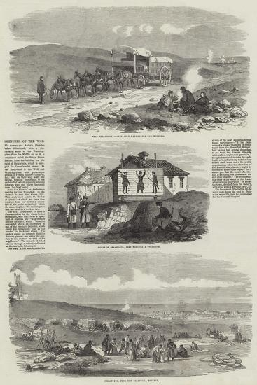 Sketches of the War--Giclee Print