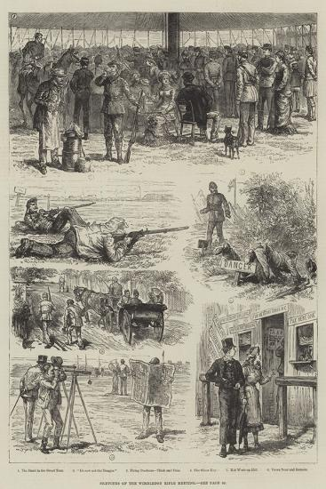 Sketches of the Wimbledon Rifle Meeting-Johann Nepomuk Schonberg-Giclee Print
