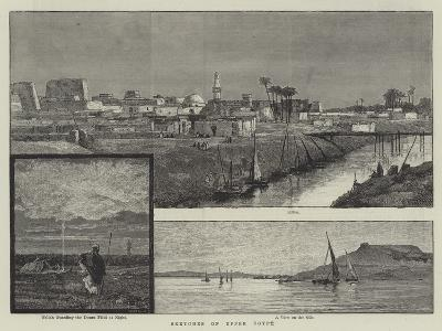 Sketches of Upper Egypt--Giclee Print