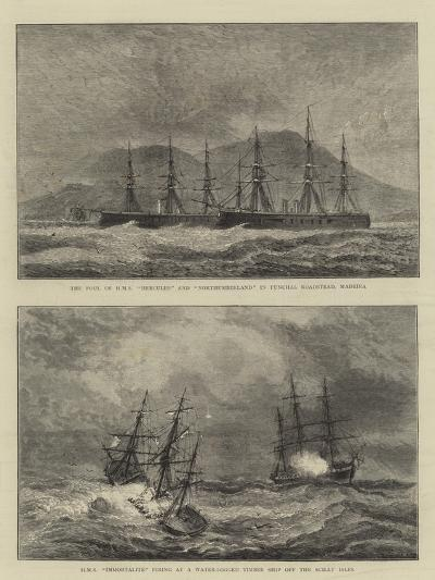 Sketches of Warships--Giclee Print