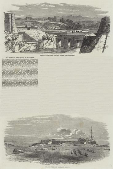 Sketches on the Coast of Malabar--Giclee Print