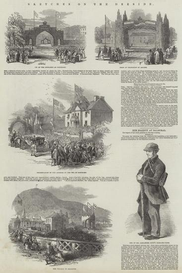 Sketches on the Deeside--Giclee Print