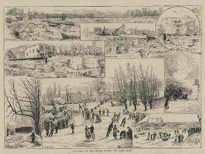 Sketches on the Thames During the Late Frost-Thomas Harrington Wilson-Giclee Print